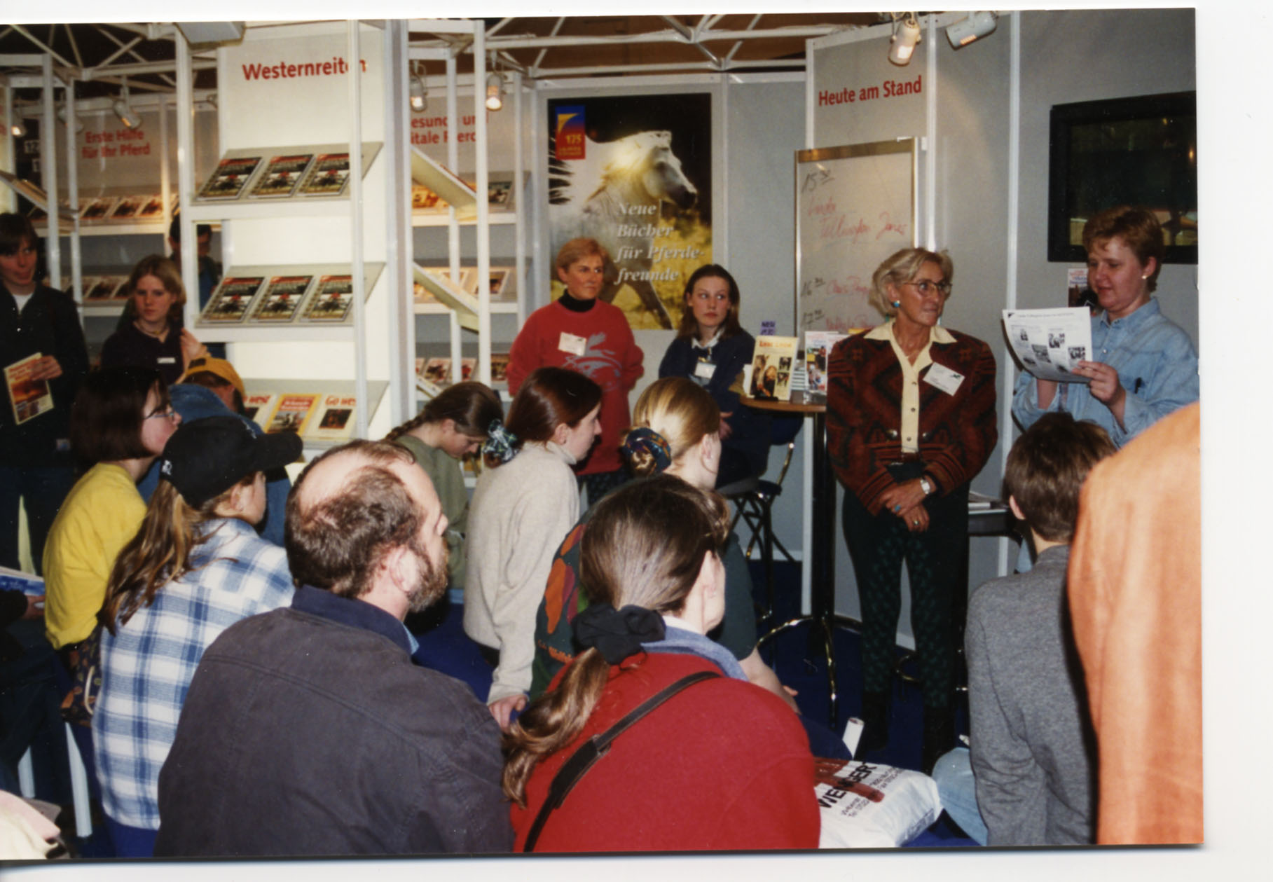 Meet and Greet at Kosmos' Booth (my German publisher) in 1996.
