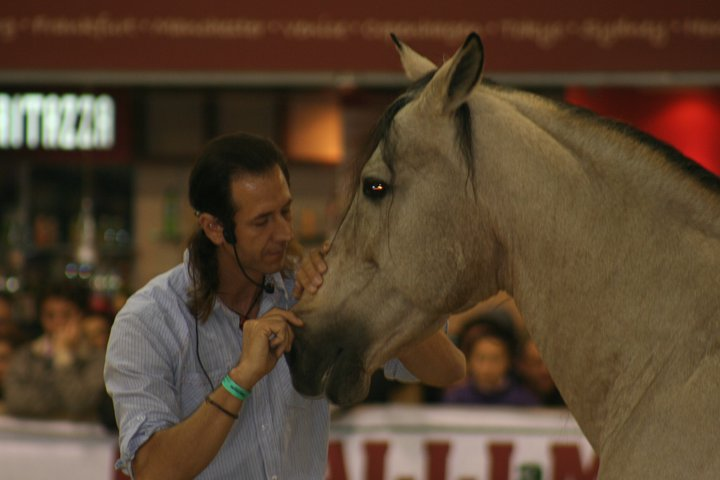 Frederic Pignon demonstrating the Nostril Work.